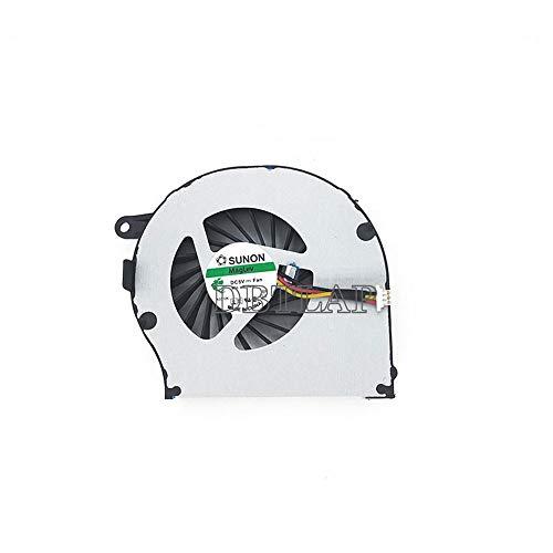 DBTLAP Ventilador de la CPU del Ordenador portátil para HP Pavilion G72 G72T CQ72 G62 CQ62 CPU Cooler KSB0505HA-A -9K62 AB7505HX-EC3 NFB73B05H Ventilador