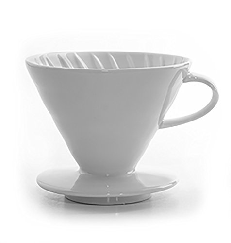 Tanors 700443183734 INV Coffee Dripper, White