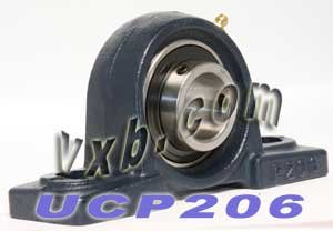 30mm Bearing UCP206 + Pillow Block Cast Housing Mounted Bearings