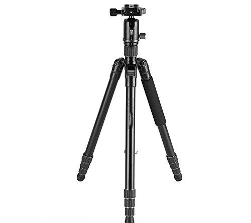Tragbares Aluminiumlegierungs-Digitalkamera-Stativ, Ball PTZ-Kamerastativ, Alpenstock, Einbeinstativ, justierbarer SLR-Kamera-Halter