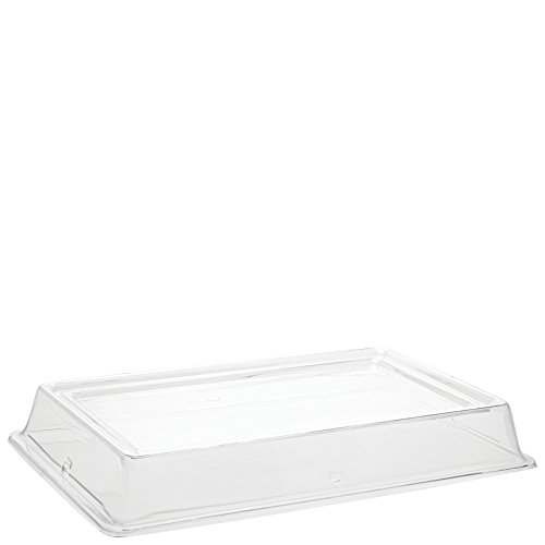 Great Features Of Carlisle 44422C07 Polycarbonate Designer Displayware Cover, 3 Height, Clear, for ...