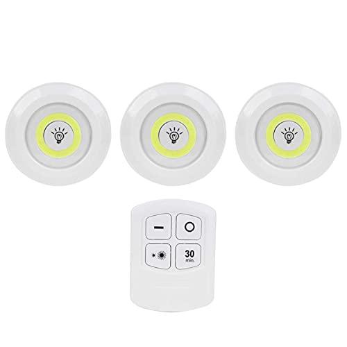FECAMOS Luz Nocturna, Resistencia a Altas temperaturas Fácil de Usar Luz Nocturna pequeña Buen Efecto de iluminación Material de PC para baños para dormitorios