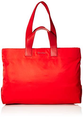 Marc O'Polo Damen Liberta Schultertasche Rot (Rouge Red)