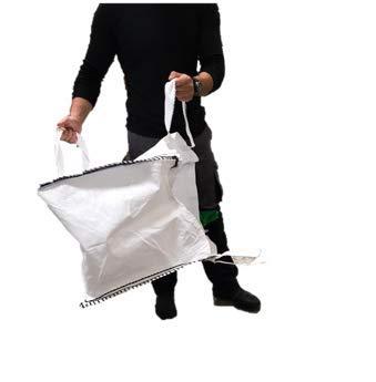 MULTISAC. Big Bag 45 x 45 x 45 cm. FIBC 100 kg con maniglia per facilitare lo scarico. Ideale per la gestione di detriti e giardinaggio.