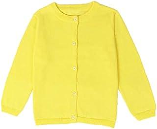 Little Girl Knit Cardigan Sweater - Toddler Button Down School Uniforms Cardigan