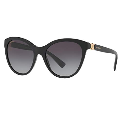 Bulgari 0BV8197 501/8G 55 Gafas de sol, Negro (Black/Gradient), Mujer
