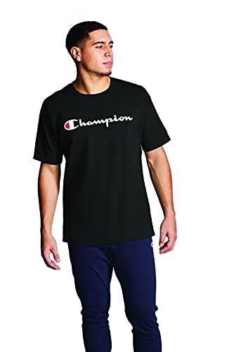 Champion Herren Graphic Jersey Tee T-Shirt, schwarz-y06794, X-Groß