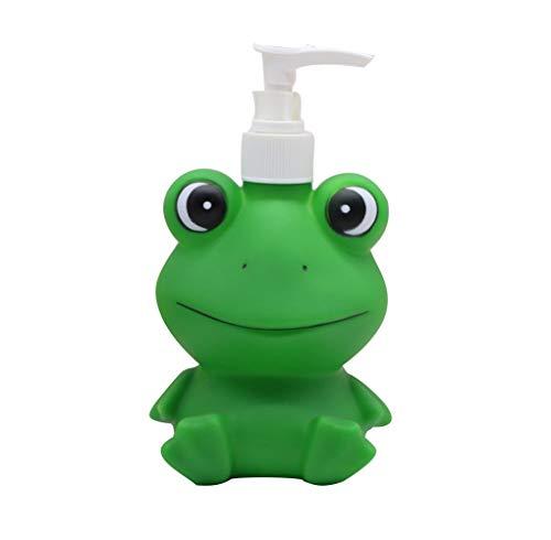 adorable frog shaped soap dispenser