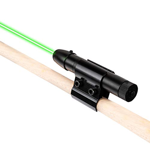 Pool Snooker Cue Sight Light - Aiming Ball Hitting Route - Billiard Practice Aids - Precise Shots Guide for Beginners (Black)