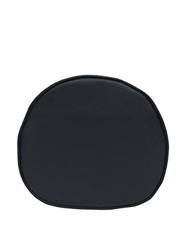 ARYANA HOME Cojín para Silla nórdica, Piel sintética, Negro, 40x36