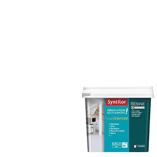 Syntilor - Peinture De Rénovation Multi-Supports Blanc Perfect Satiné 0,75L
