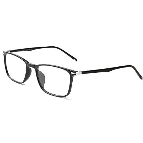 Gleitsichtbrille Progressive Lesebrillen, Intelligente Brillen Mit Klarer Linse, Multifokale Sicherheits-Computerleser Für Modefrauen Männer Enthält Elegante Vollrahmen-Federscharnierbrillen Unisex