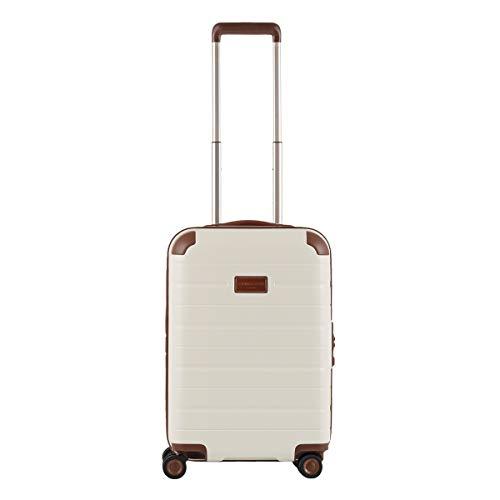 [サンコー] スーツケース 機内持ち込み 37L 50.5cm 3kg TC04-50 軽量 ベージュ