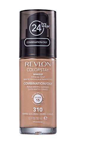 Revlon Base Liquida Colorstay 310 Warm Golden Fps 15, Revlon