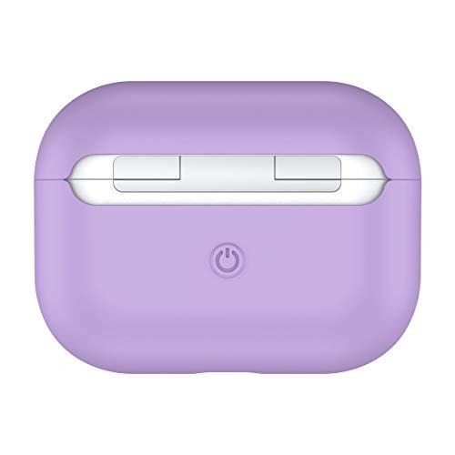 Case Coque en Silicone AirPods Pro Coque Étui Souple Cover Anti Choc Housse Supporte la Charge sans Fil