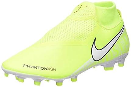 Nike Phantom Vision Academy Dynamic Fit MG, Botas de fútbol Unisex Adulto, Verde (Volt/White/Volt 717), 47.5 EU