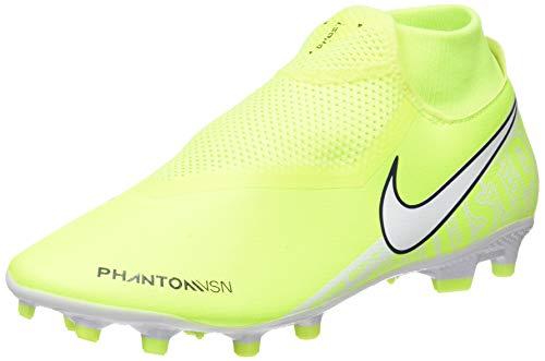 Nike Phantom Vision Academy Dynamic Fit MG, Scarpe da Calcio Unisex-Adulto, Verde (Volt/White/Volt 717), 38.5 EU