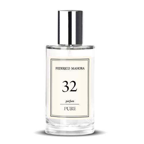 Drom Fragrances Pure 32 Eau de Parfum Spray für Damen, gleiche Formel wie Thierry Mugler Angel, hergestellt in der gleichen deutschen Fabrik, Eau de Parfum, 50 ml