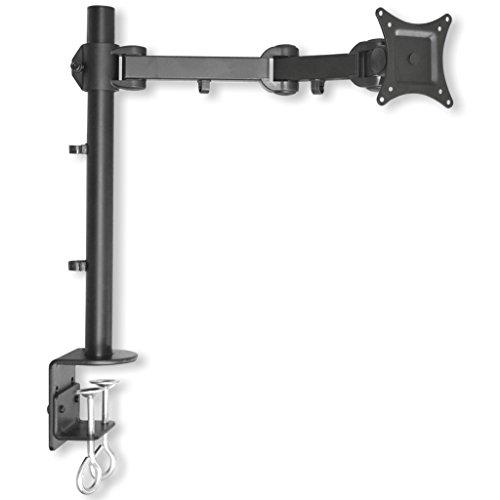 """Monitor Tischhalterung LCD 352S - 13-27\"""" (33-68, 6cm), max 10kg, neigbar, schwenkbar 360°, höhenverstellbar - schwarz"""