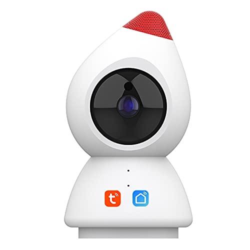 Tuya Smart Life Cámara IP 1080P, monitor de bebé de detección humana CCTV de vigilancia de seguridad WiFi inalámbrico compatible con Alexa