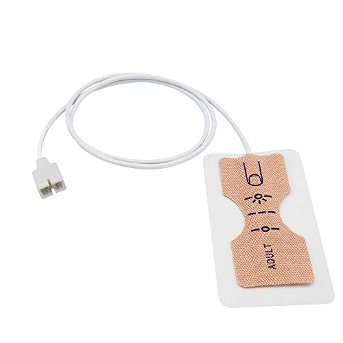 Save %30 Now! Compatible Nellcor D25 Disposable Spo2 Sensor Probe Non-Oximax 7 Pin Adult 12 Pack