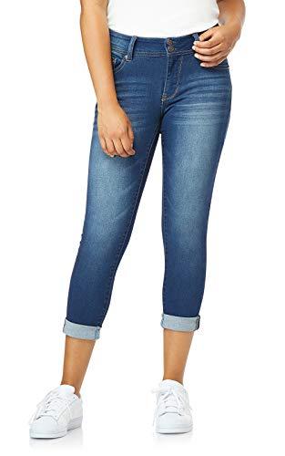 WallFlower Juniors Women's InstaSoft Ultra Fit Skinny Crop Jeans in Harper, 0