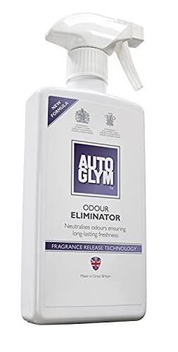 Autoglym - Eliminador de Olores, Localiza y Elimina los Malos Olores del Interior de los Vehículos, 500ml