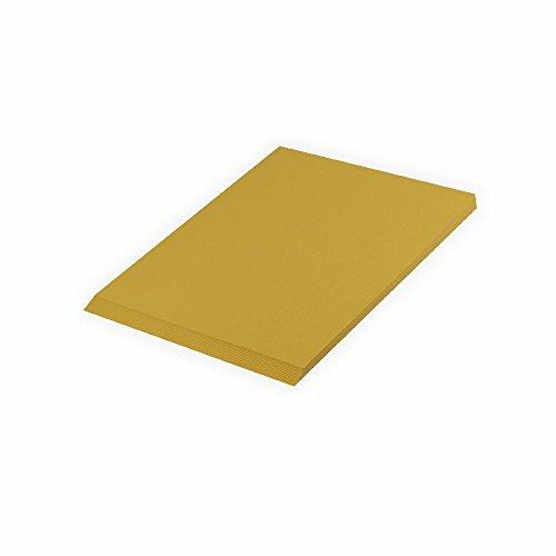 Fotokarton gold matt 300g/m², 50x70cm, 10 Bogen/Blätter