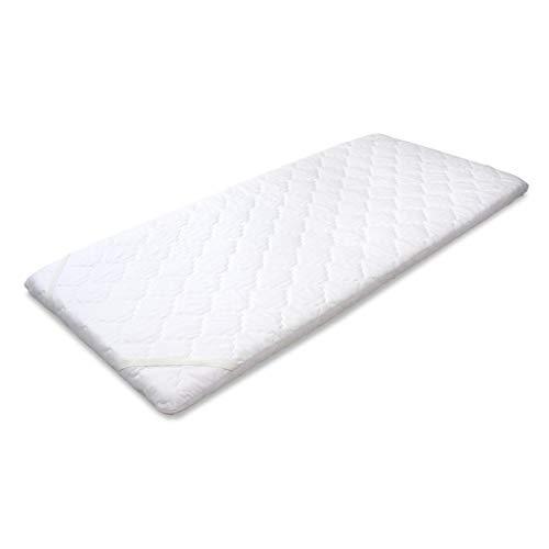 MSS Schaumstoffmatratze, Schaumstoff, Weiß, 90 x 200 cm