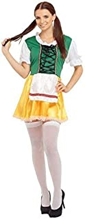 Ladies Oktoberfest Bavarian German Beer Lady Festival Hen Night Traditional International Carnival Fancy Dress Costume Outfit