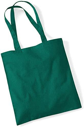 Westford Mill – Sac à main en toile Disponible en 29 couleurs. Idéal pour travaux manuels, sérigraphie. - Vert -