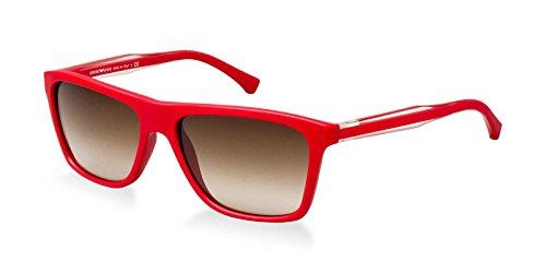 Emporio Armani 0 Gafas de sol, 506713: Red, 56 mm para Hombre