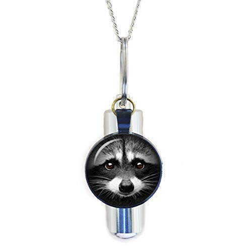 Racoon Cremation URN Necklace, Wildlife Jewellery, Raccoon Cremation URN Necklace, Animal Cremation URN Necklace, Christmas Jewellery, Xmas Gift, Stocking fillers, Wild Animal,N201