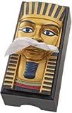 Royal Egyptian king tut sculptural tissue Box cover New