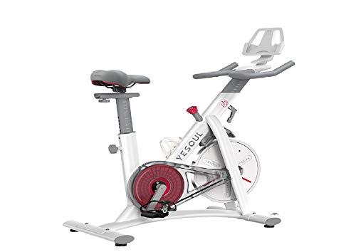 Bicicleta Estática Yesoul Spinning Indoor Smart S3 Blanco