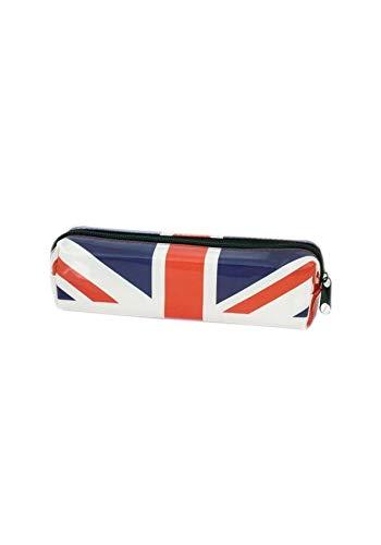 Federmäppchen mit Union Jack-Motiv, rechteckig, Rot / Weiß / Blau