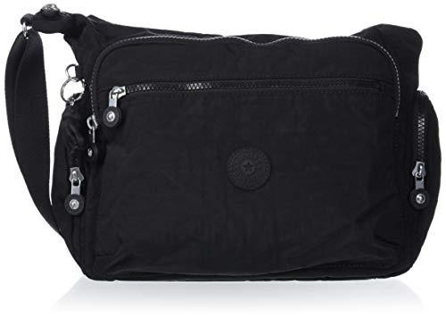Kipling Women's Gabbie Crossbody Bag, Black Noir, One Size