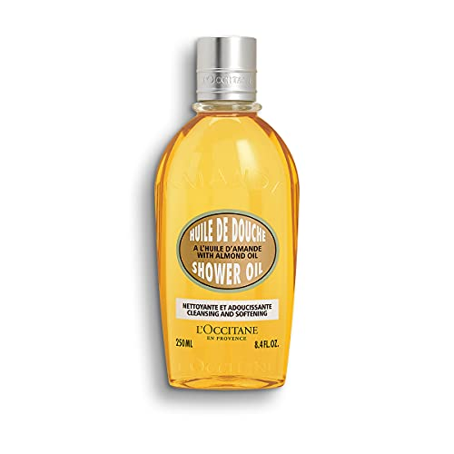 L'Occitane Cleansing And Softening Almond Shower Oil, 8.4 Fl Oz