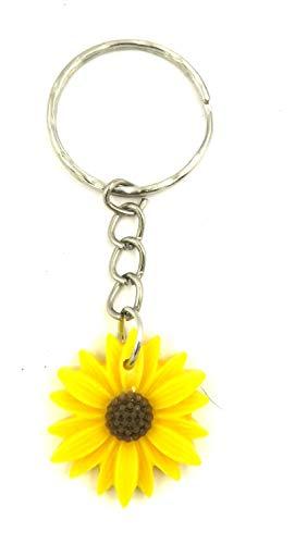 schmuck-stadt Sonnenblumen Schlüsselanhänger Herbst Taschenanhänger