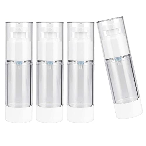 4 Piezas Botella de Spray 30ml, Atomizador de Viaje de Plástico, Botellas de Prensa de...