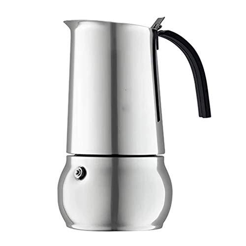 304 de acero inoxidable cafetera aislamiento hervidor de gran capacidad tetera 85 oz conveniente para uso doméstico