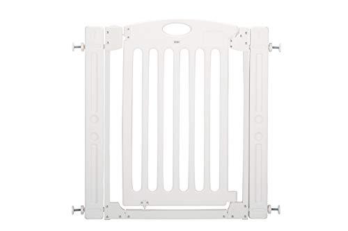 階段上で使えるゲート 拡張(追加)フレーム2個付き [ホワイト]