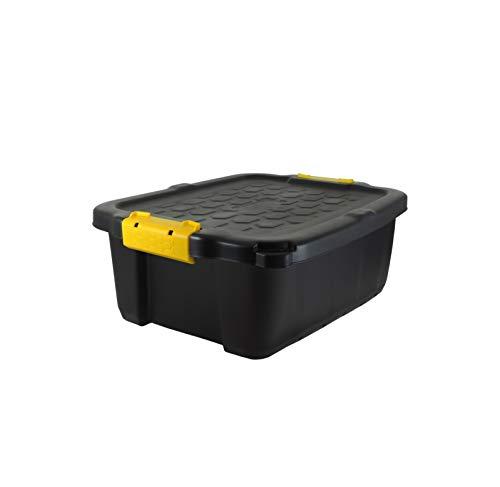 Koll Living Garden XXL transportbox/kussenbox met 24 liter inhoud, geschikt voor tuin, huis, hobby en bedrijf, beschermt de inhoud tegen vocht, weer- en UV-bestendig, uiterst robuust