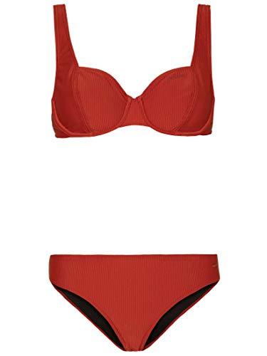 Protest Merryl Ccup Juego de Bikini, Clay, S para Mujer