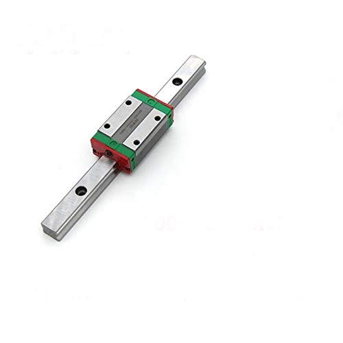RUNGUANG LIGHTS 1pc Guide linéaire MGN15 200 250 300 300 350 400 450 55 550 mm MGNR15 Rail + 1PC MGN15H Carrelier 3D Imprimante 3D CNC (Guide Length : 330mm)