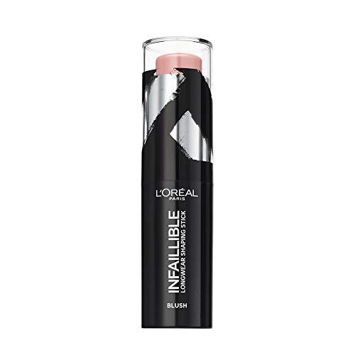 L'Oréal Paris Contouring Makeup Infaillible Kontur-Stick Blush 001 Rouge, 1er Pack (1 x 9 ml)