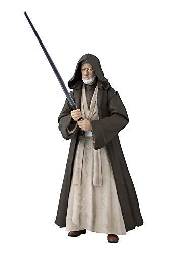 BANDAI SPIRITS S.H. Figuarts Star Wars Ben Kenobi (Una Nuova Speranza) Circa 150mm in PVC e ABS Action Figure dipinte