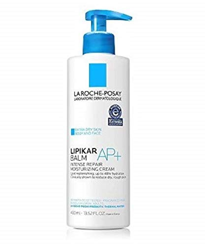La Roche-Posay 897-18570 Lipikar Balm AP+ Intense Repair Body Cream for Extra Dry Skin & Sensitive Skin, Body Moisturizer to Hydrate & Soothe, Dermatologist Recommended, Fragrance-Free