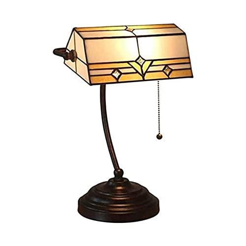 Lámpara de Mesa, Cristal Manchada Lámpara Lámpara de mesa, mini lámpara lámpara de mesa de noche luz retro luces de banco de luces de lujo de vidrio de vidrio luces de escritorio luces de noche para s