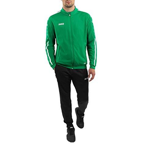 JAKO Kinder Striker 2.0 Trainingsanzug Polyester, sportgrün/Weiß, 128